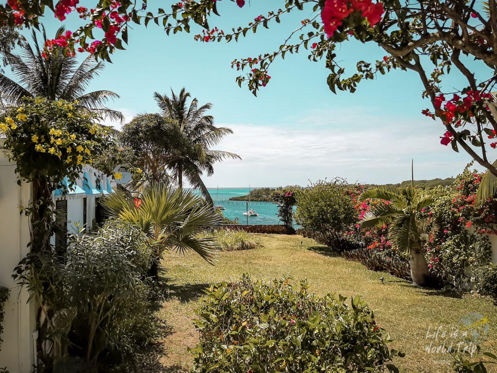 Life is a World Trip - Kombireise Mauritius und La Réunion. Meerblick im Osten.