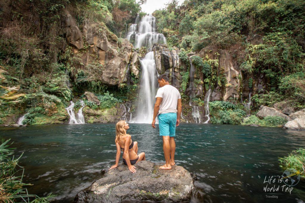 Life is a World Trip - Kombireise nach Mauritius und La Réunion. Wasserfall Bassin des Aigrettes