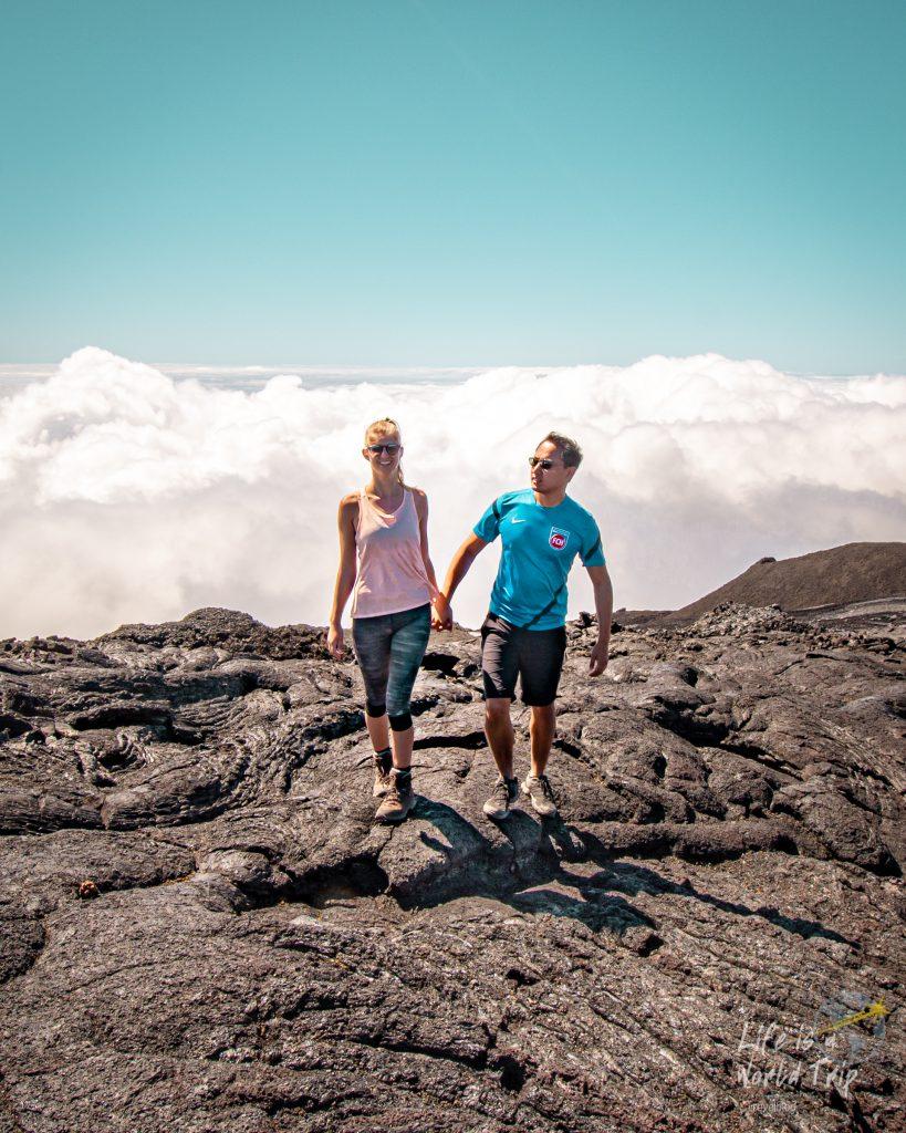 Life is a World Trip - Kombireise nach Mauritius und La Réunion. Wanderung auf den Piton de la Fournaise