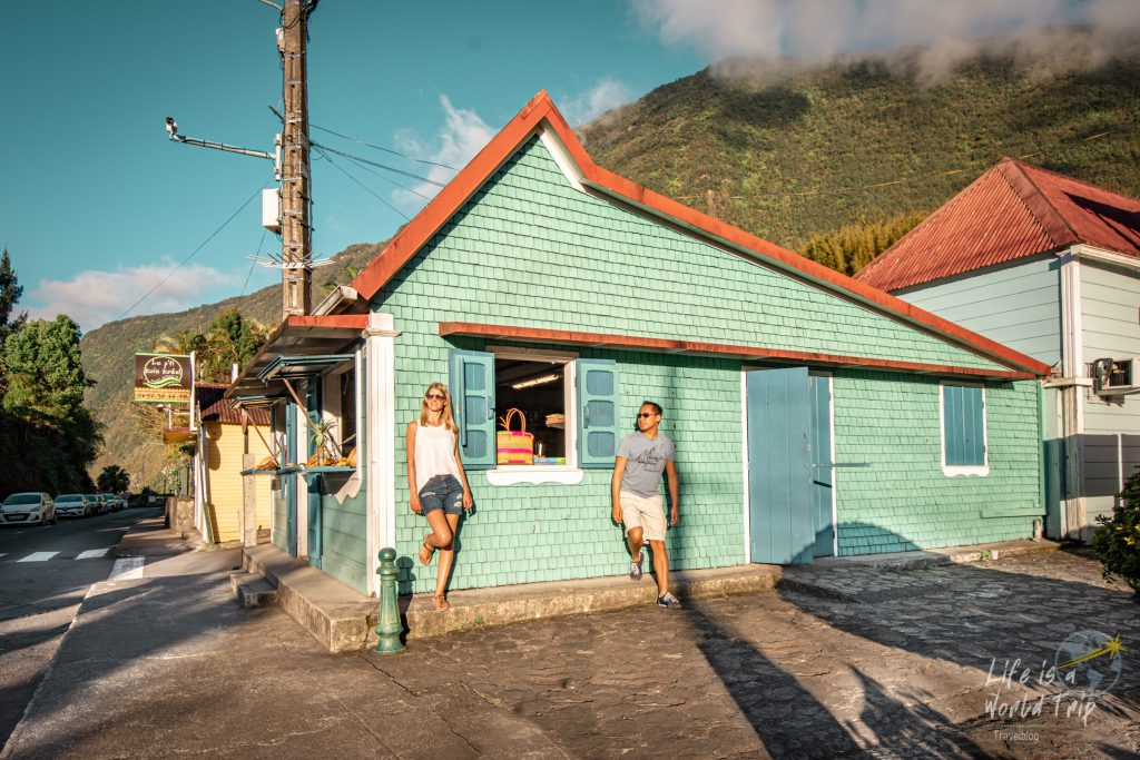 Life is a World Trip - Kombireise nach Mauritius und La Réunion. Hell-Bourg im Talkessel Salazie.
