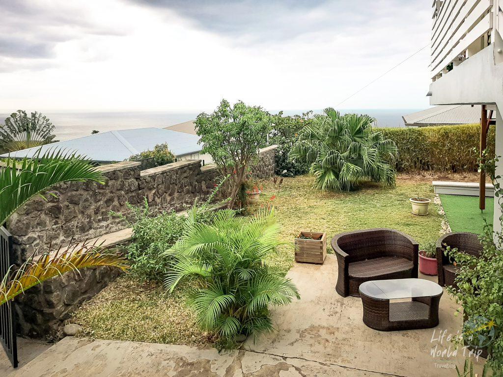 La Réunion - Airbnb-Unterkunft mit Terrasse und wunderschöner Aussicht auf den Indischen Ozean